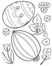 Pasen Kleurplaten Eieren