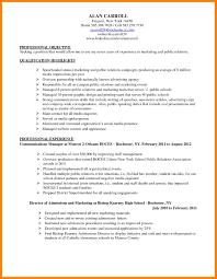8 Marketing Specialist Resume Incidental Report