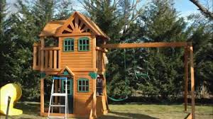 2016 costco mountainview resort playset by cedar summit installed by dan you