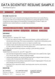 Data Scientist Resume Example Writing Tips Resume Genius