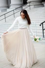 25+ süße Kleid standesamt winter Ideen auf Pinterest   Brautkleid ...