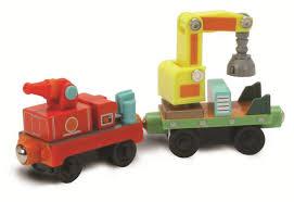 chuggington wooden railway rescue cars