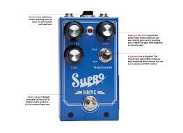 a al old time supro amp aping overdrive with an output transformer and an intriguing expression pedal option for increasing gain