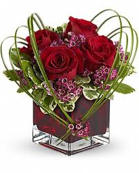 teleflora s sweet thoughts bouquet with red roses bouquet