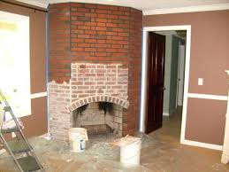 refinished fireplace stylish fireplace mantel refinishing brick fireplace photo