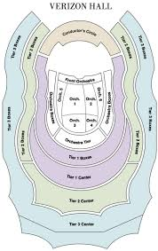 Met Philly Seating Chart Seating Map The Philadelphia Orchestra