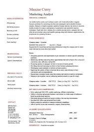 Inspirational Marketing Skills Resume Resume Objectives Employment