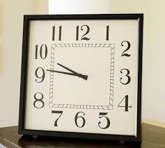 Modern Square Clock