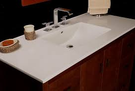 integrated porcelain sink bowl countertops come 25 31 37 43 or 49 wide and 22 deep porcelain vanity tops feature rear upturned drip edge