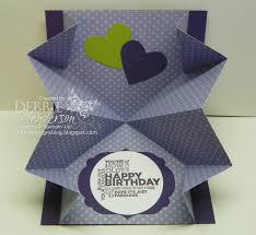 fold card debbie s designs wednesday wacky squash fold card