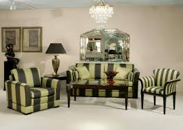 Mirrored Furniture Living Room Interior Crystal Chandelier Silver Frame Wall Mirror Furniture