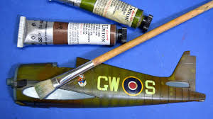 painting plastic models with brushes oil paints great guide
