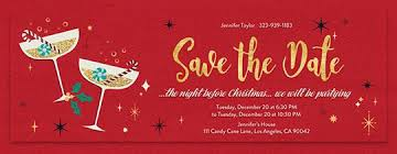 Christmas Party Save The Date Templates Christmas Dinner Invitation Card Merry Christmas Happy