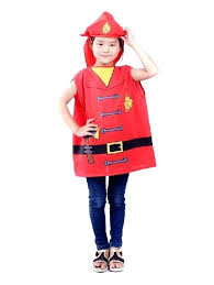 firemen costume china cute children profession costumes uni firefighters kids fireman clothing for diy