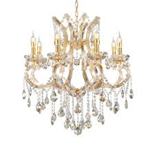 gallant 8 integrated led 8 watt bulb cognac crystals matte gold