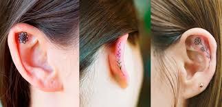 Ear Tattoos Lo Nuevo En La Tendencia De Tatuajes Bacanal