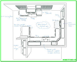 simple kitchen drawing. Full Size Of Kitchen:designing A Kitchen Floor Plan Simple Design Ideas Home Layout Large Drawing E