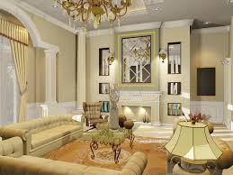 Living Room Classic Decorating Lounge Decoration Pictures Nice Cream Nuance Of The Homemade