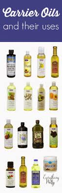 carrier oils for hair. list of carrier oils and their benefits for hair s