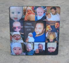 baby collage frame personalized fathers day picture frame unique babys first year