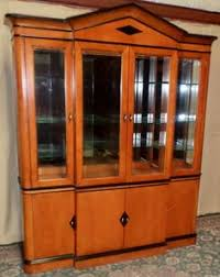 national mt airy furniture. NATIONAL MT AIRY CHINA CABINET Lighted Maple Biedermeier Style VINTAGE NationalMtAiry In National Mt Airy Furniture