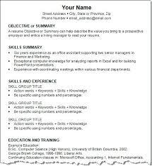 Work Resume Template Resumes Social Work Job Resume Templates