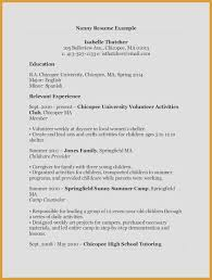 Restaurant Resume Sample Resume Template Samples Nanny Resume Sample ...