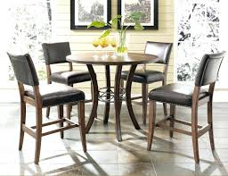 round counter height table and chairs large size of 5 piece counter height dining set instruction