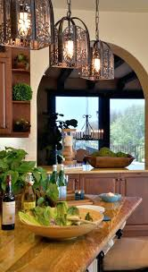 tuscan kitchen island lighting best kitchens ideas on style love the light fixtures and wood counter
