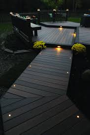 deck lighting ideas. Light The Night For You And Your Guests With TimberTech Decking Lighting. This Deck Is From Our Legacy Collection In Tigerwood Mocha Accents. Lighting Ideas D
