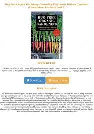 books bug free organic gardening