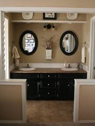 Brown Painted Bathrooms Gray And Brown Bathroom Color Ideas