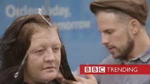 <b>The hairdresser</b> for the homeless - BBC News