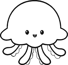 Small Picture Action jelly fish coloring page Jellyfish Coloring Pages X3i7jy3