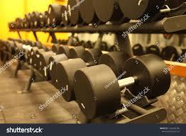 Gym Equipments Dumbbells Fitness Training Stock Photo (Edit Now) 1022402746