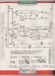 wiring diagrams and schematics fixitnow com samurai appliance ge washer model number s22ooyoww schematic