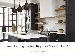 are floating shelves right for your kitchen