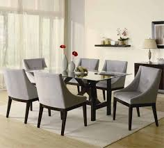 contemporary dining room chairs alluring decor very attractive with regard to sets plan 10