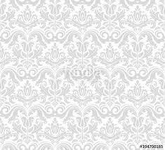 Silver Pattern Best Damask Seamless Ornament Traditional Silver Pattern Classic