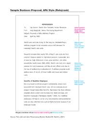 sample business proposal apa business proposal sample fill online printable