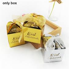 10pcs diy laser cut paper candy gift box wrap bag party eid mubarak decoration 5 5 of 10 see more