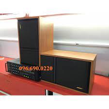Bộ dàn Karaoke - Nghe nhạc Gia đình - Gồm đôi loa BOSE 301 sang trọng + Âm  ly Jaguar PA 203N