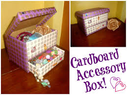 Decorating Cardboard Boxes DIY Cardboard Accessory Box 100 Steps 31