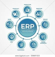 Erp Chart Erp Enterprise Vector Photo Free Trial Bigstock