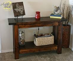 front entry table. I Was So Excited To Finally Have An Entry Table. It Adds Much That Dull, Empty Space By Our Front Door. Check Out Ana White\u0027s Website For The Plans Table Addicted 2 DIY