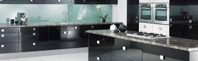 White Gloss Kitchen Designs Black Gloss Kitchen Designs House Decor