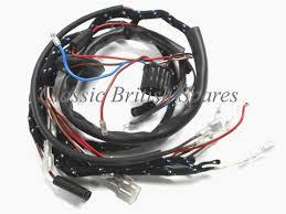 bsa lucas type main cloth wiring harness 1967 lightning bsa lucas type main cloth wiring harness 1967 lightning thunderbolt spitfire