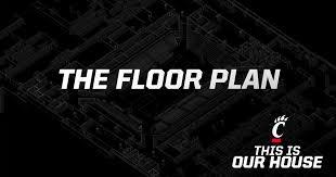 Cincinnati Bearcats Basketball Seating Chart The Floor Plan Fifth Third Arena Renovation Project