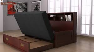 ... Sofa Cum Bed Buy Wooden Sofa Online And Get Space Saving Furniture For  Compact Home Folded