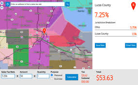 Ohio Sales Tax Chart By County Breaking Sales Tax Rates Down By Jurisdiction